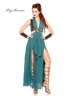 Women's Sexy Warrior Maiden Costume