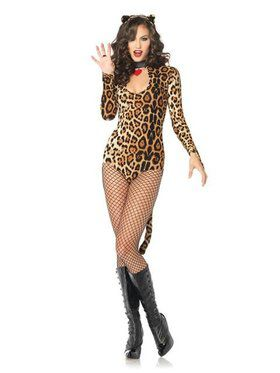 Womens Sexy Wicked Wildcat Cougar Costume