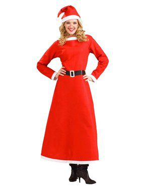 Women's Simply Mrs. Santa Claus Costume