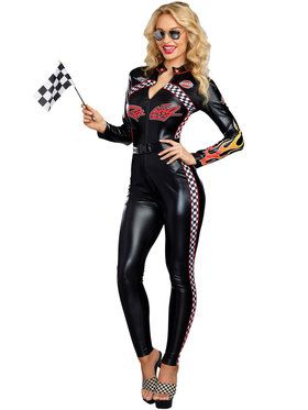 Start Your Engines Costume For Women