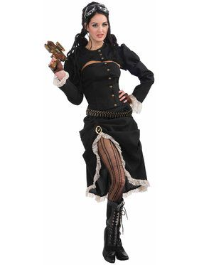 Women's Steam Punk Renegade Costume