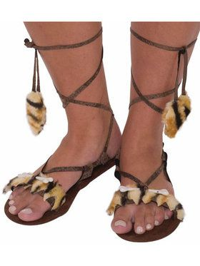Women's Stone Age Style Sandals
