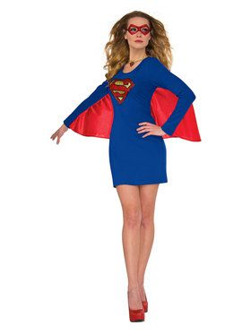 Supergirl Dress with Magical Wings