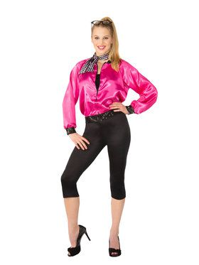 Womens 1950's T-Bird Pink Lady Costume