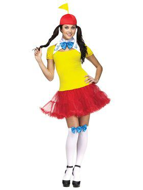 Womens Tweedle Dee Tweedle Dum Costume