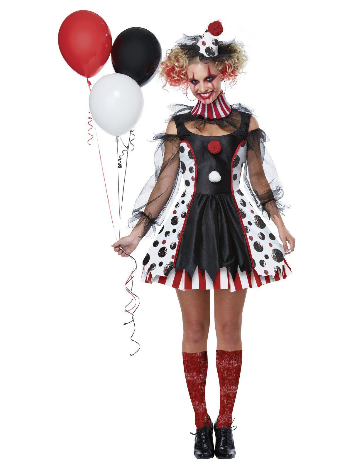 twisted clown costume for women - womens costumes for 2018