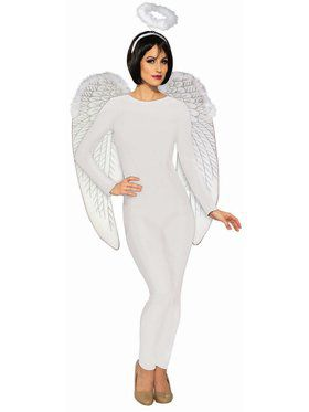 Unitard Women White Adult Plus Costume