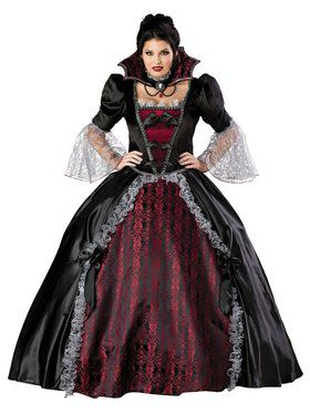 Womens Vampiress of Versailles Plus Size Costume