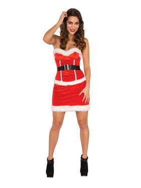 Velvet Santa's Corset for Women