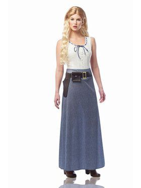 Women's Western Girl Costume