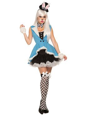 White Bunny Costume For Women