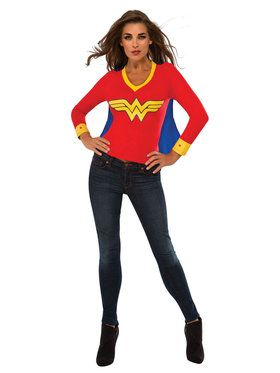 Wonder Woman Adult Sporty Tee