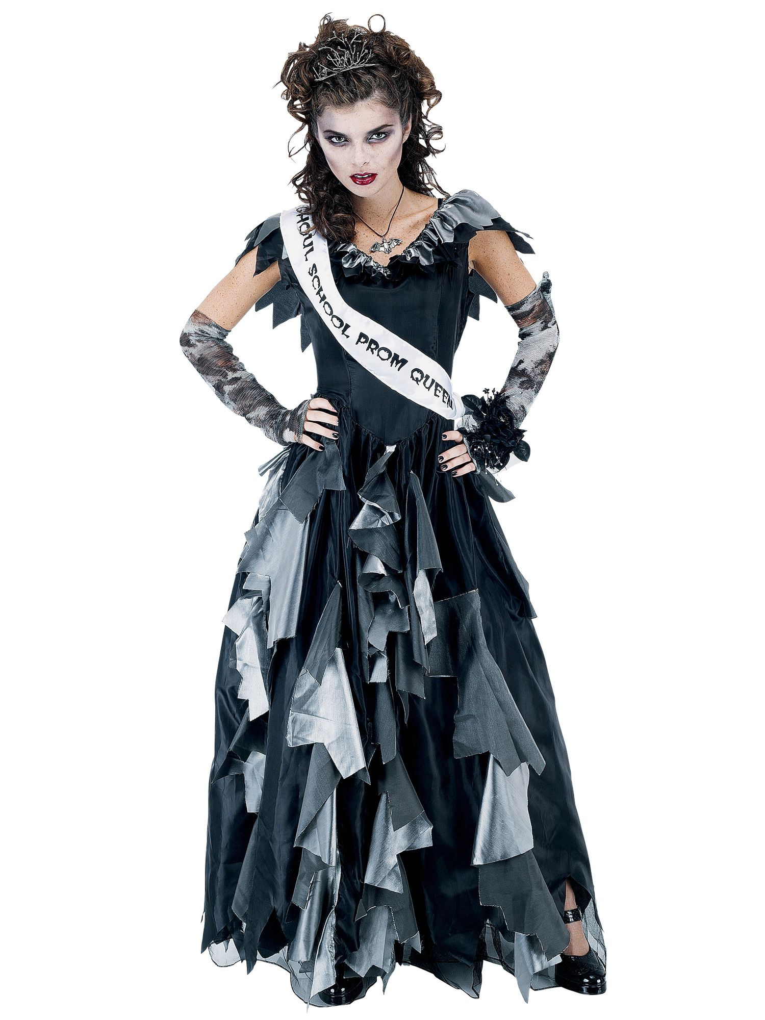 Prom Queen Women's Zombie Costume