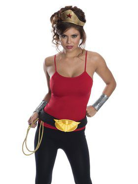 Wonder Woman Accessory Kit for Adults