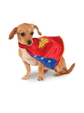 DC Wonder Woman Cape Pet Accessory