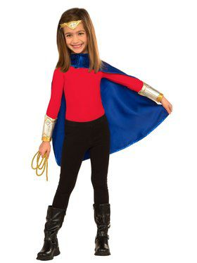 Wonder Woman Dress Up Costume Set