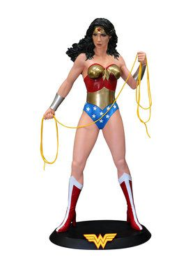 Life Size Wonder Woman Statue
