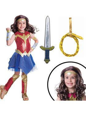 Wonder Woman Movie Deluxe Childrens Costume Kit