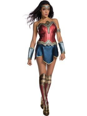 Adult Wonder Woman Movie - Wonder Woman Costume For Adults  sc 1 st  Wholesale Halloween Costumes & Female Cosplay u0026 Anime Halloween Costumes at Low Wholesale Prices