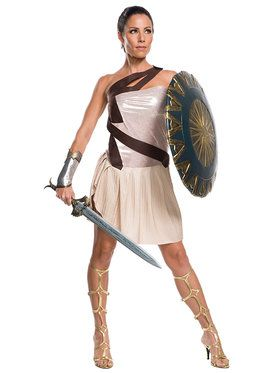 Wonder Woman Movie - Wonder Woman Beach Battle Deluxe Women's Costume