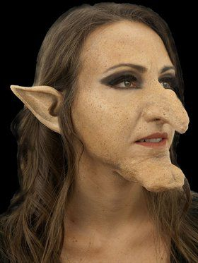 Woochie Witch Hazel Prosthetic Nose and Chin