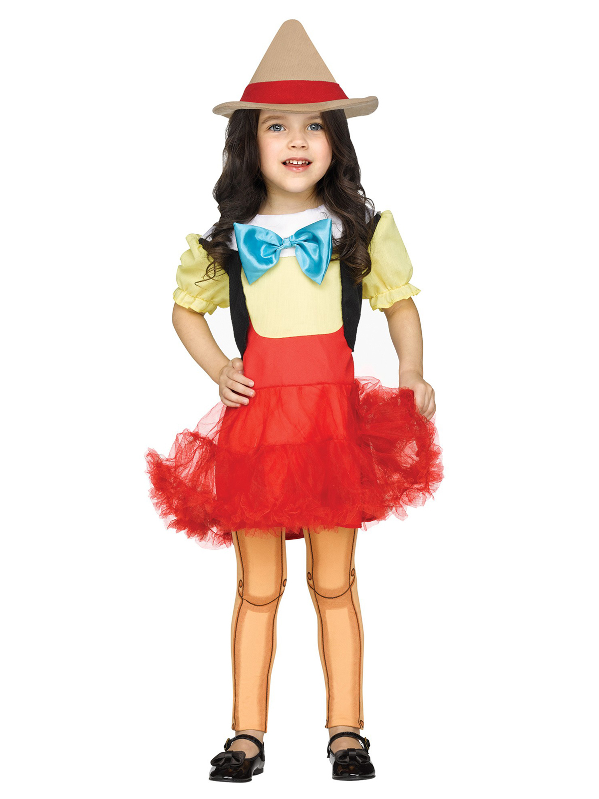 Fun World Wooden Girl Doll Toddler Costume