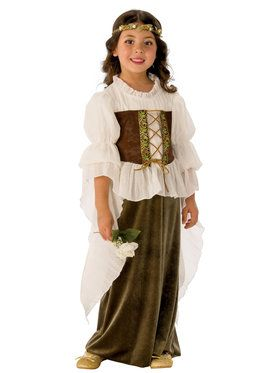 Girls Woodland Girl Costume