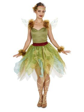 Woodland Princess Costume For Adults