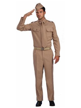 World War II Private Costume For Adults