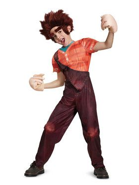 Deluxe Ralph Costume Wreck-It-Ralph 2