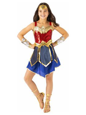 Wonder Woman WW2 Movie Deluxe Costume for Kids