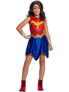Wonder Woman WW2 Movie Costume for Kids Deluxe