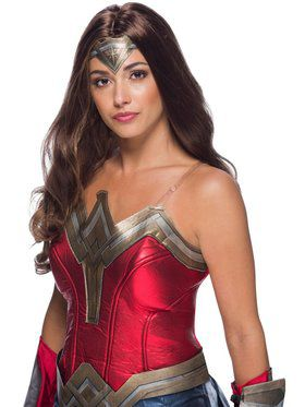 WW2 Movie Wonder Woman Secret Wishes Wig