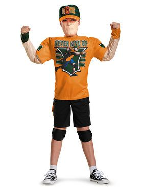 WWE John Cena Classic Muscle Chest Kids Costume