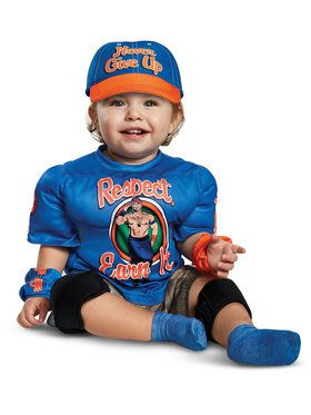 Toddler WWE: John Cena Muscle Costume