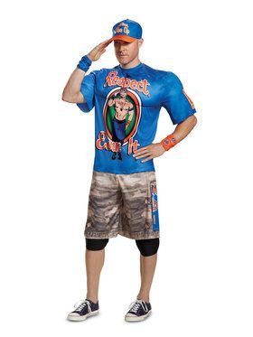 John Cena WWE Muscle Adult Costume
