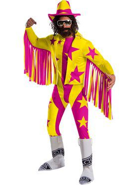 WWE Macho Man Randy Savage Deluxe Costume for Adults