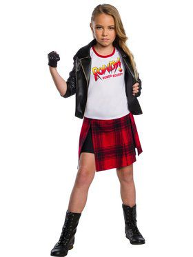 WWE Rowdy Ronda Rousey Deluxe Costume for Kids