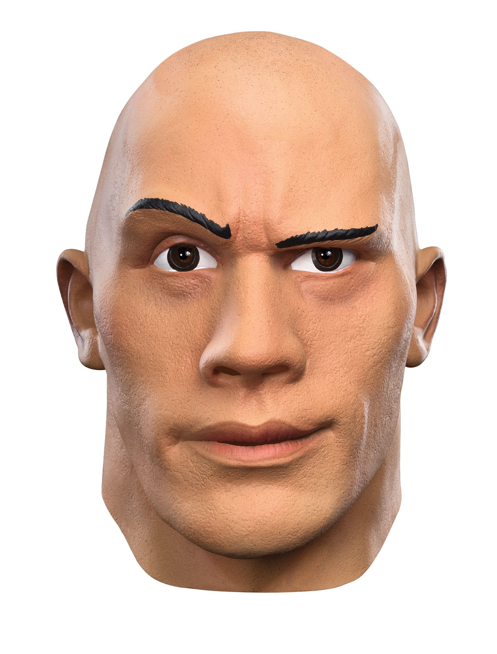 wwe the rock deluxe adult mask - costume accessories for 2018