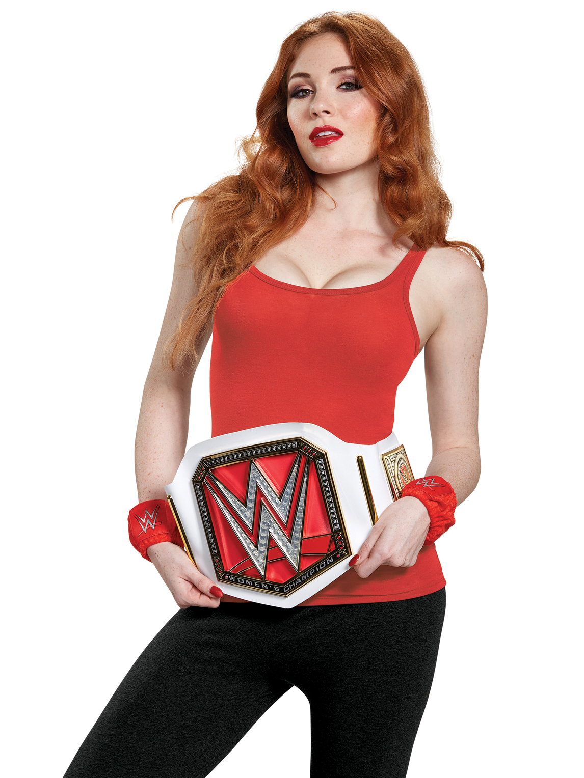 Disguise Inc Wwe Womenu0027s Ch&ion Adult Costume Kit One-Size  sc 1 st  Nextag & Wwe wrestler costume | Compare Prices at Nextag