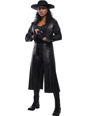 WWE Women's Undertaker Costume for Adults