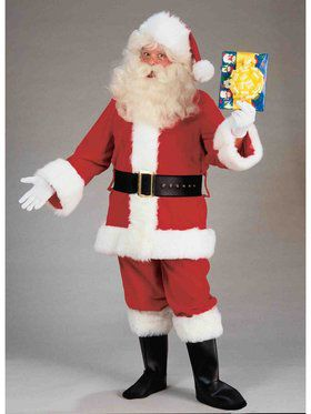 X-Large Deluxe Adult Value Santa Suit