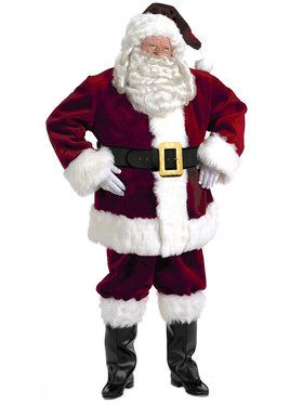 X-large Majestic Santa Suit