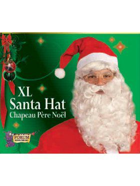 Adult XL Plus Santa Hat