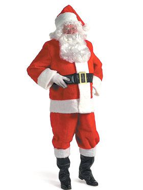 XXX-Large Rental Quality Men's Santa Suit