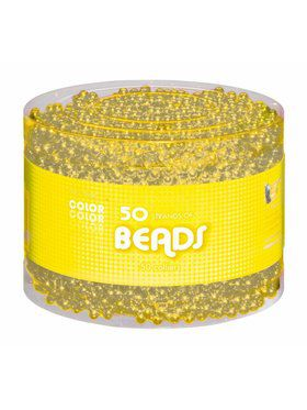 Multipack - Yellow Bead Necklaces