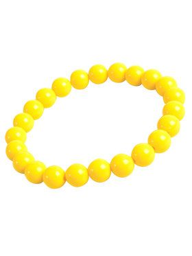 Yellow Big Pearls Bracelet