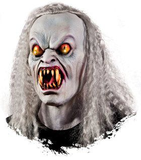 Yellow-Eyed Vampire Light-Up Mask