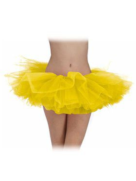 Yellow Tulle Womens Tutu