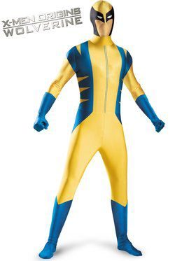 Young Men's Wolverine Bodysuit Costume